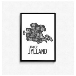 sdrjylland, synderjylland, sønderjylland, landsdel, plakat, poster, sønderjysk