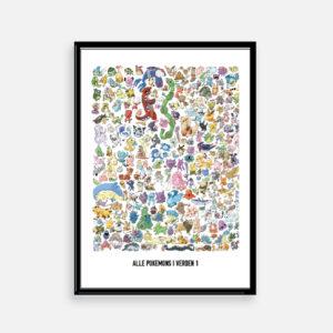 #allepokemon #pokemon #pokemonplakat #gave