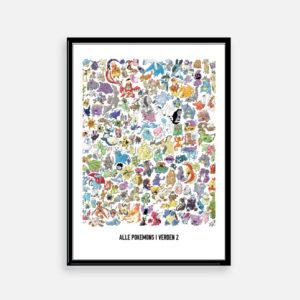 allepokemon pokemon pokemonplakat gave