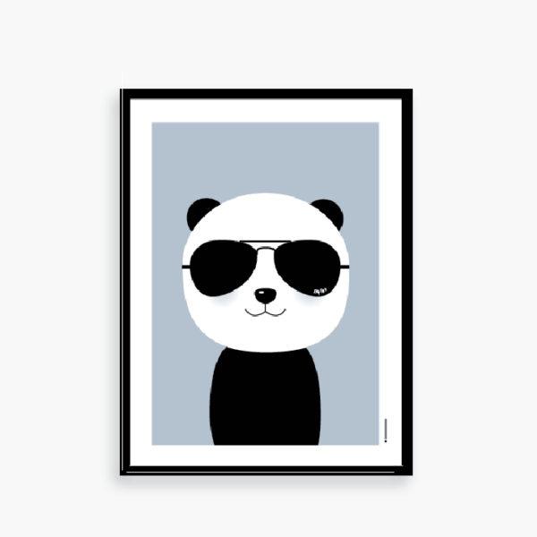 Panda Ray - med de klassiske Ray Ban solbriller :-)