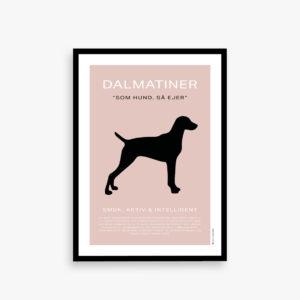 Som hund så ejer, Dalmantiner plakat