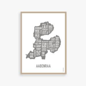 Aabenraa, Åbenrå plakat, byplakat