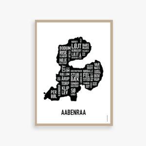 Aabenraa, Åbenrå plakat, by plakat