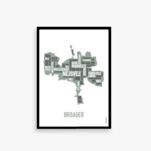 Plakatudsalg, plakat lagersalg, Broager, byplakat