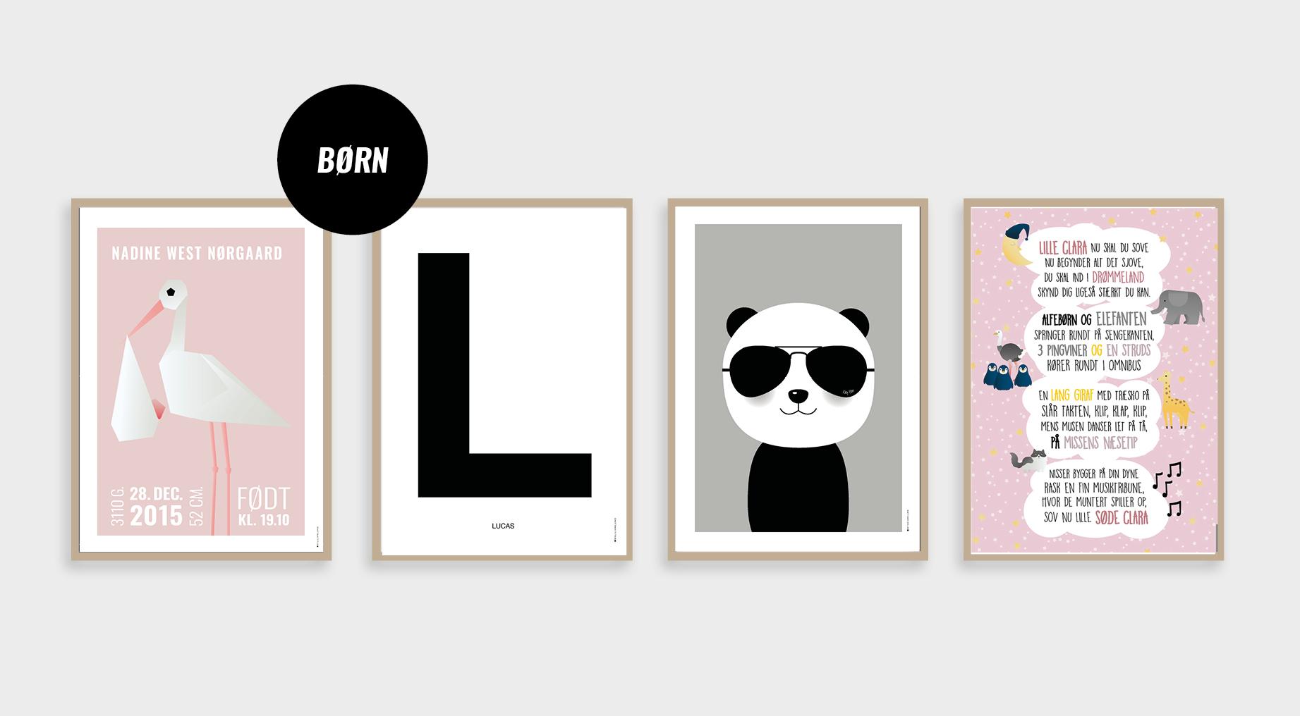 Plakater til børneværeslet
