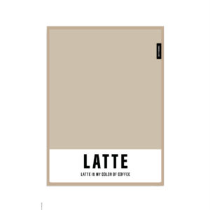 guilty pleasure LATTE LATTE IS MY COLOR OF COFFEE