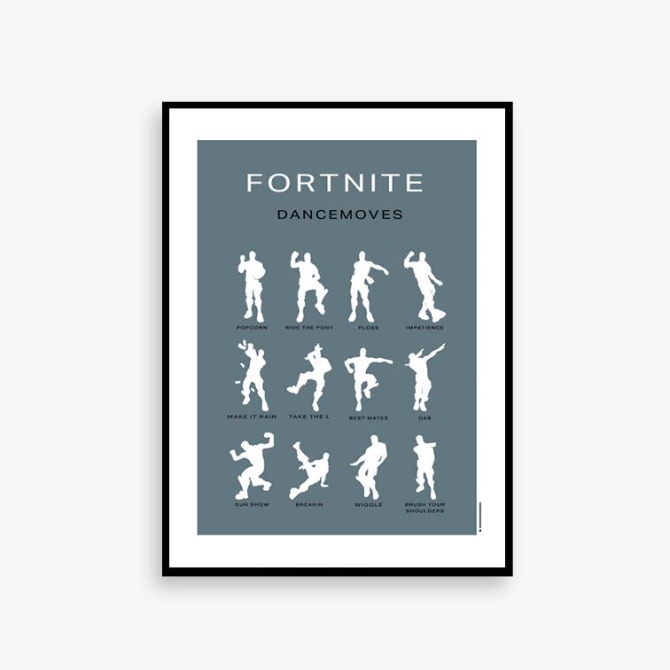 Dance 50 x 70 inkl. ramme